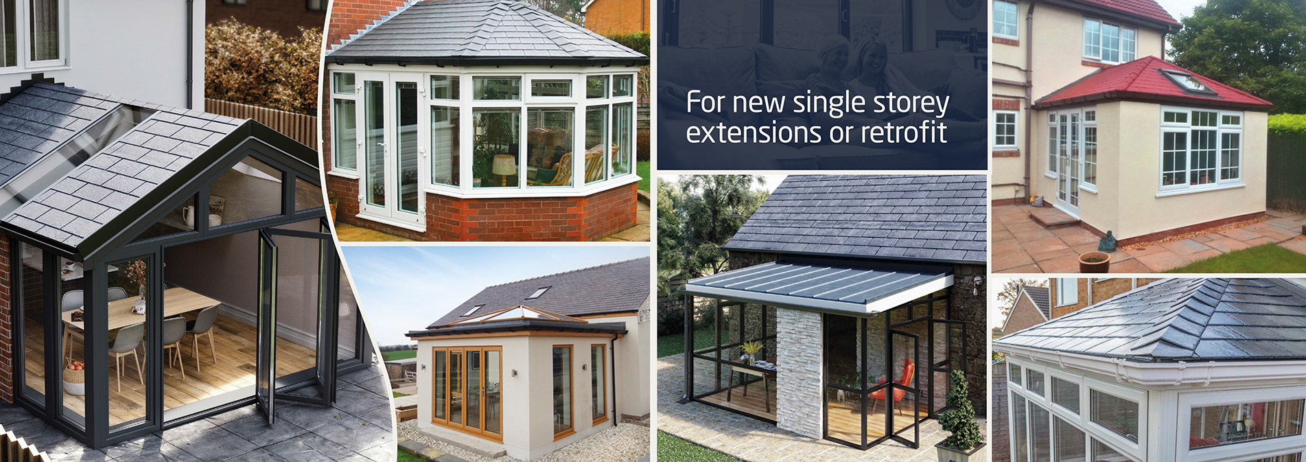Single story roof extensions